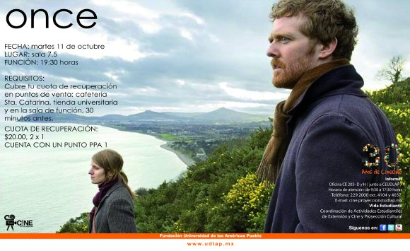 Cineclub presenta: ONCE