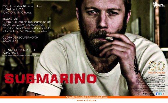 Cineclub presenta: Submarino