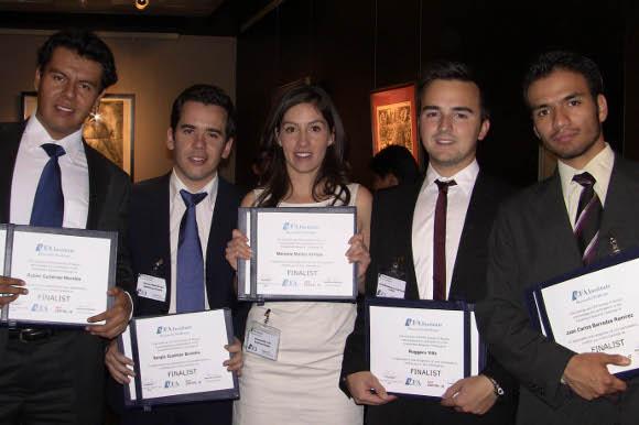 Estudiantes de la UDLAP, finalistas de concurso de análisis financiero a nivel regional del CFA Institute