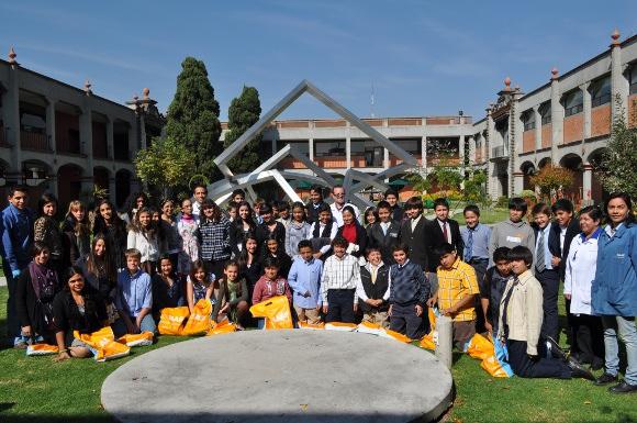 UDLAP, BASF y el Colegio Americano de Puebla llevan a cabo programa educativo interactivo