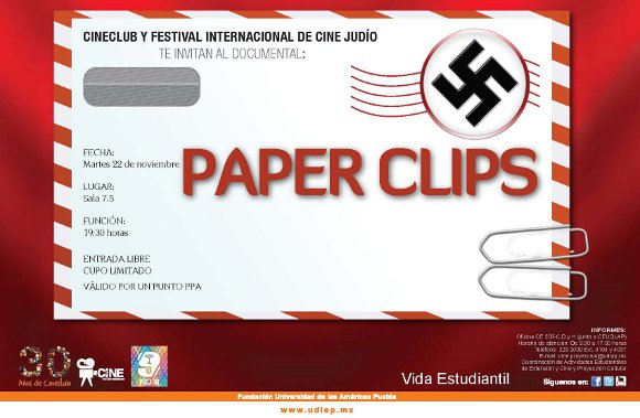 Cineclub presenta: Paper Clips