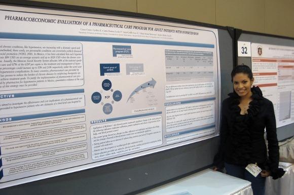 Egresada de la UDLAP participa en evento organizado por la American Society of Health-System Pharmacists