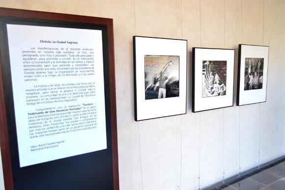 """""""Cholula, la Ciudad Sagrada"""", conócela en la Biblioteca Franciscana"""