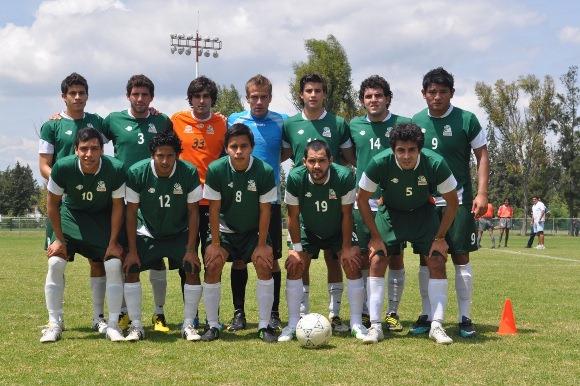 Aztecas de soccer cerca del Nacional de CONADEIP