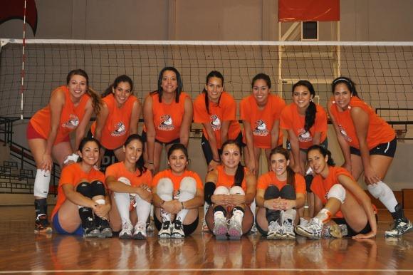 Voleibol Azteca sorprende en el DF