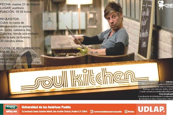 Soul Kitchen en el Cineclub