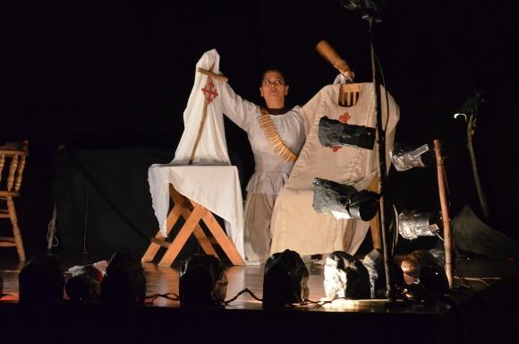 Festejos del Día Mundial del Teatro, dejan reflexión entre el público de Capilla del Arte UDLAP