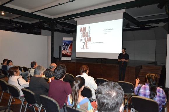 Ambulante 2012 en la Capilla del Arte UDLAP