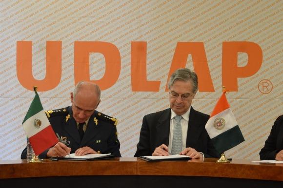 UDLAP y el Instituto de Seguridad Social de las Fuerzas Armadas signaron convenio de colaboración
