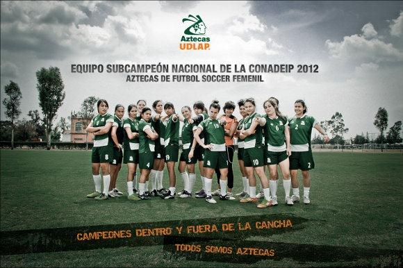 Aztecas ganarán todo en soccer