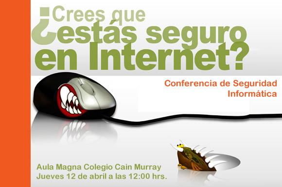 Conferencia: seguridad en las redes inalámbricas