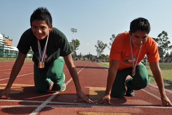 Más medallas para el atletismo Azteca en la Olimpiada Nacional