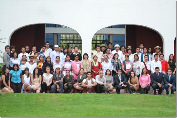 Programa liderazgo para jovenes indigenas  UDLAP 2012 2