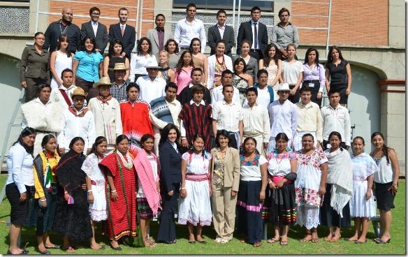 Programa liderazgo para jovenes indigenas  UDLAP 2012