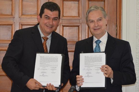UDLAP y COPARMEX firman convenio de colaboración