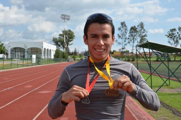2 medallas más para el atletismo Azteca