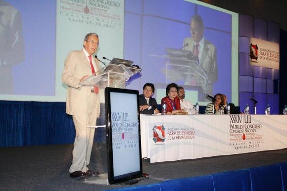 Dr. Guillermo Ruiz Argüelles participó en el World Congress International Society of Hematology