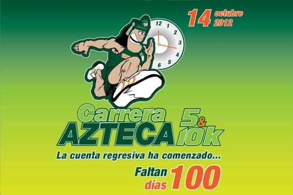 Faltan 100 días para la Carrera Azteca UDLAP 2012