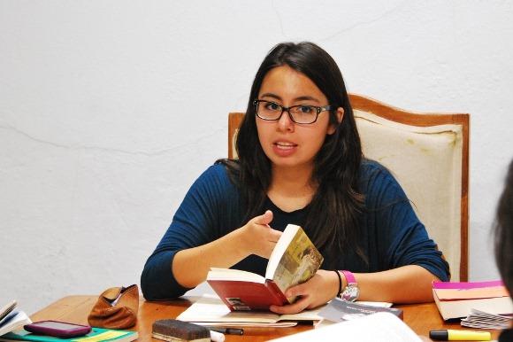 Alumna UDLAP imparte curso de literatura en la Casa del Escritor