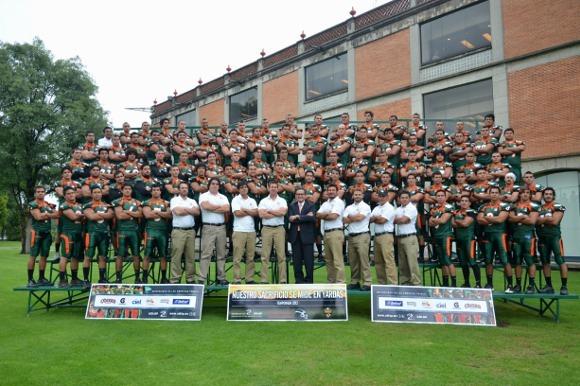UDLAP presentó a sus Aztecas para la temporada 2012 de la Liga Premier