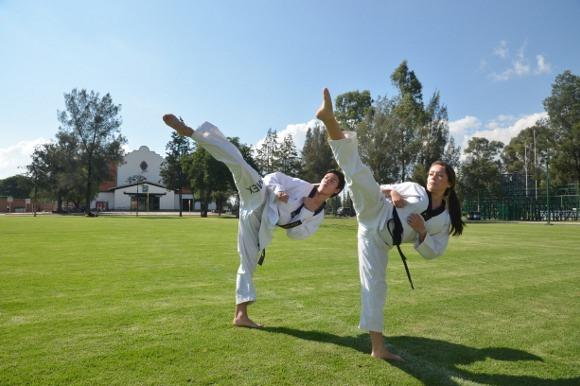 Aztecas campeones nacionales de tae kwon do