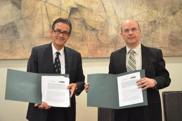 UDLAP firmó un convenio con Thyssenkrupp Metalúrgica de México