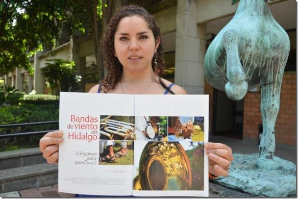 Estudiante UDLAP participa en la revista México Desconocido