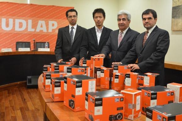 UDLAP y SONY unen esfuerzos en beneficio de la educación