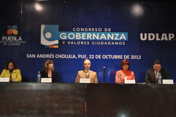 La UDLAP sede del Congreso de Gobernanza y Valores Ciudadanos