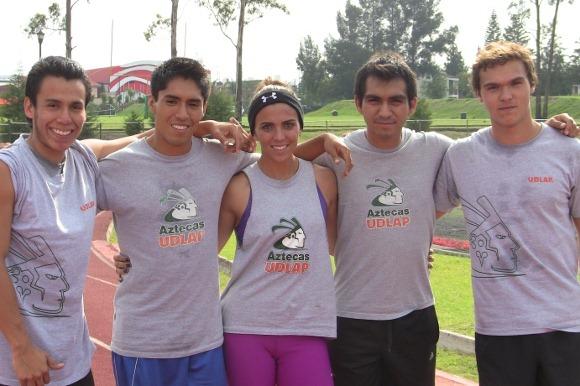 Atletismo Azteca cosecha 13 medallas en su primera competencia del año