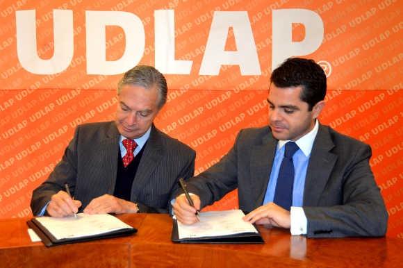 UDLAP y Televisión, Radio y Tecnologías Digitales firman convenio de colaboración