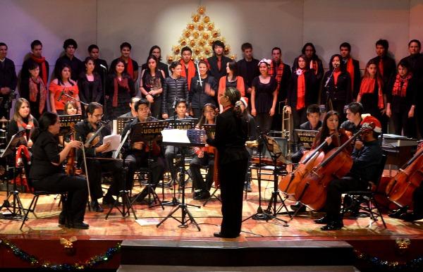 La comunidad artística de la UDLAP ofrece su primer concierto navideño en la Universidad