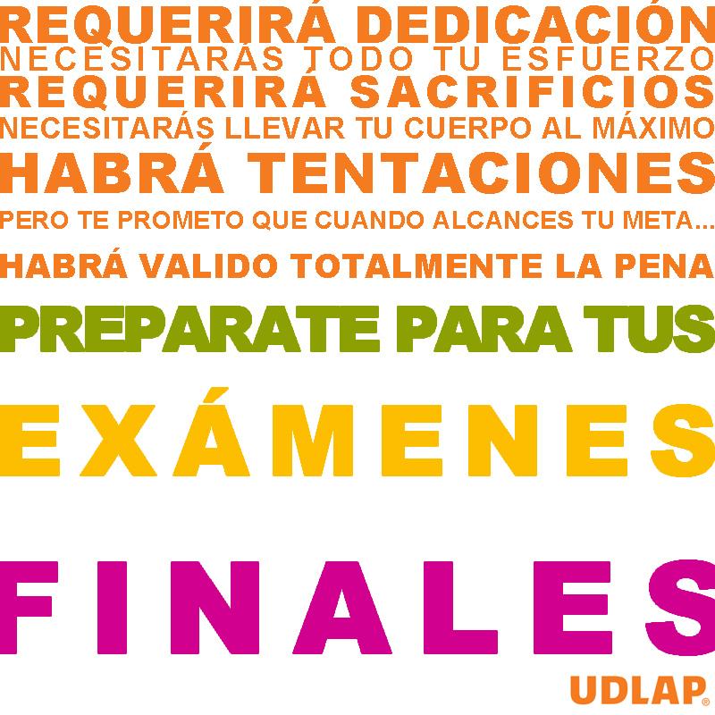 Prepárate para exámenes finales
