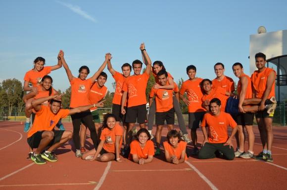 Aztecas UDLAP listos para la Olimpiada Estatal
