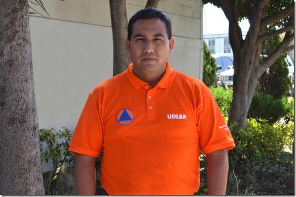 Coordinador de la UDLAP recibe registro como perito de Protección Civil