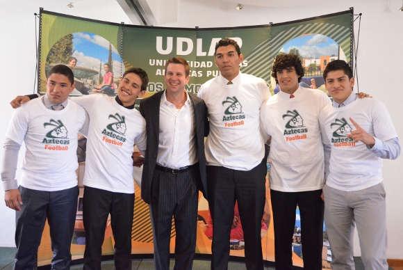 6 nuevos jugadores llegan al equipo Azteca de la UDLAP
