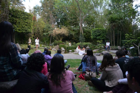 Ópera UDLAP se presenta en el Jardín de la Meditación