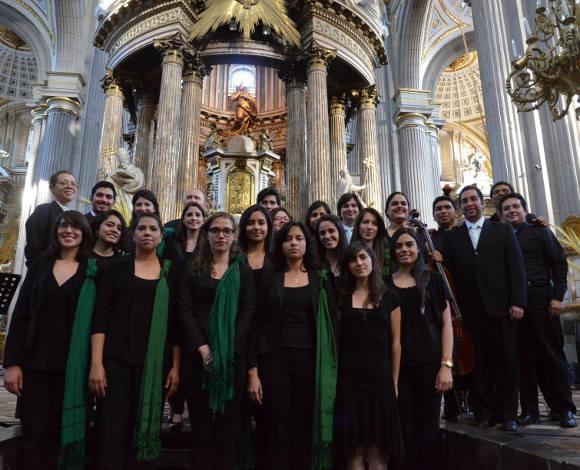 """Coro de la UDLAP presente en el festival """"Pasión: Música Antigua, Semana Santa 2013"""""""