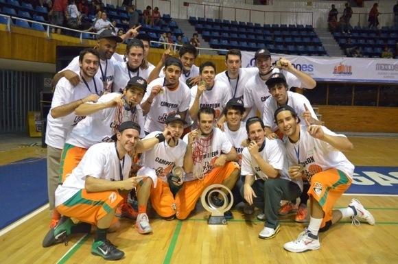 ¡Aztecas campeones de la Conferencia Premier de baloncesto de CONADEIP!