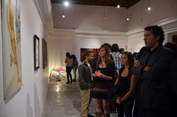 Reúne Galerías de la Casa del Caballero Águila 35 nuevos artistas