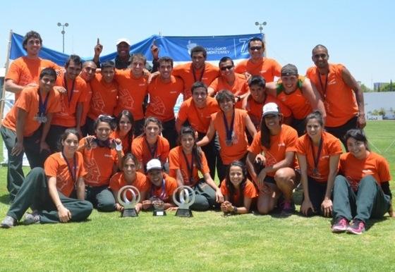 Equipo de Atletismo de la UDLAP es subcampeón de la CONADEIP