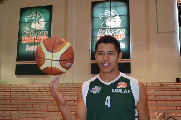 Jugador Azteca dará el 100% para disputar la Universiada Mundial en Rusia