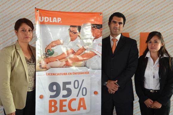Licenciatura en Enfermería de la UDLAP otorga  el 95 por ciento de beca en colegiaturas