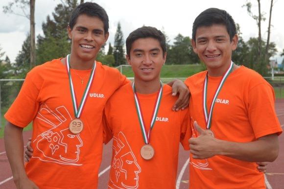 Atletas de Talleres de la UDLAP consiguieron medalla de bronce