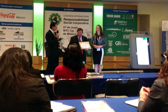 Sustenta Centro de Responsabilidad Social UDLAP presente en el Octavo Congreso Internacional de Responsabilidad Social Corporativa en el World Trade Center