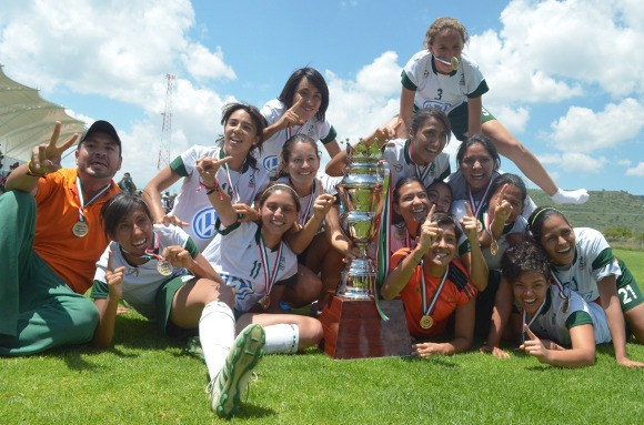 ¡Aztecas reinan la Liga Mayor Femenil!