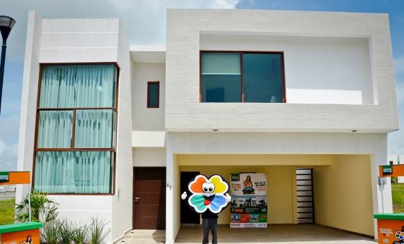 Sorteo UDLAP presentó la casa del 3er premio en Veracruz