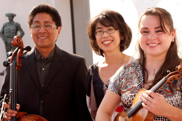 Trío de las Américas presente en el Festival Internacional de Cámara en San Miguel Allende