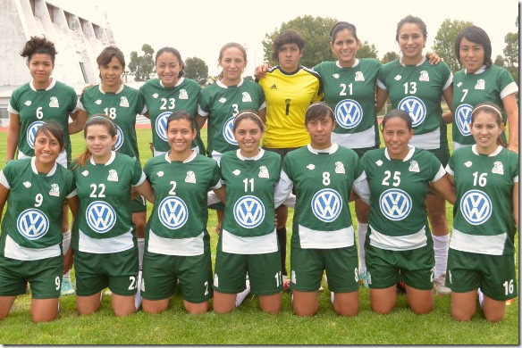Magnífico debut de las Aztecas en LMF