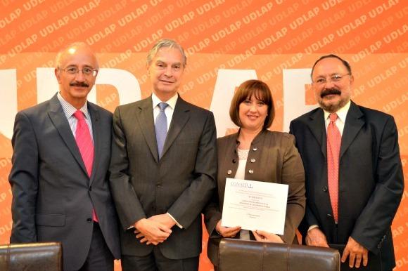 El Departamento de Derecho de la UDLAP fue reconocido por el CONAED